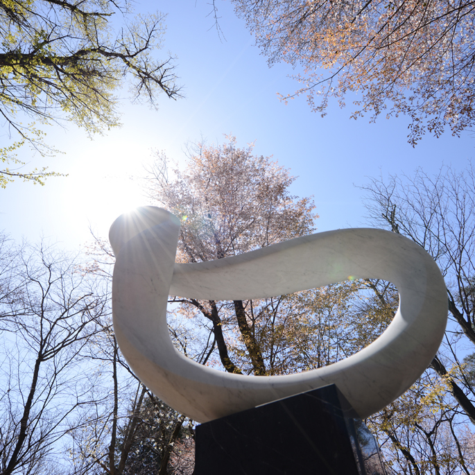 昭島・昭和の森 武藤順九彫刻園